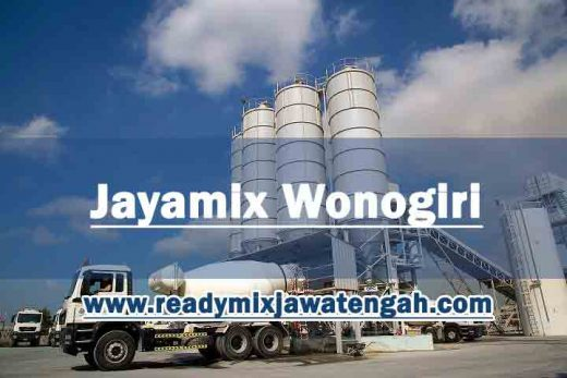 harga beton jayamix Wonogiri