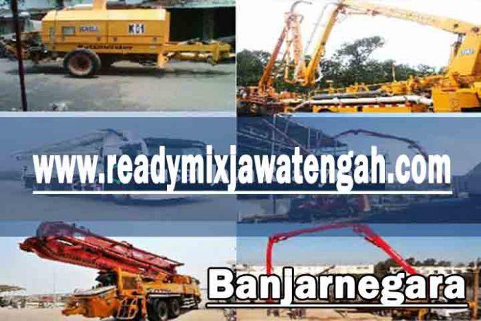 harga sewa pompa beton Banjarnegara