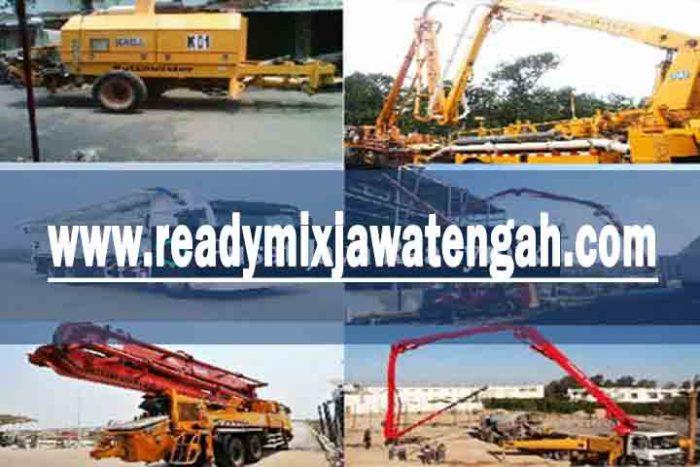 harga sewa pompa beton Jawa Tengah