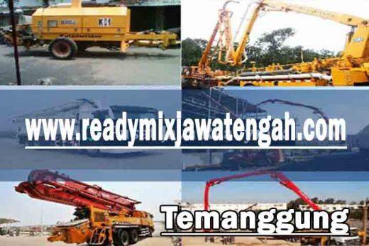 harga sewa pompa beton Temanggung