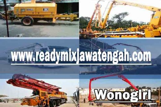 harga sewa pompa beton Wonogiri