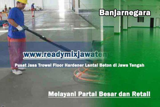 jasa floor hardener lantai banjarnegara