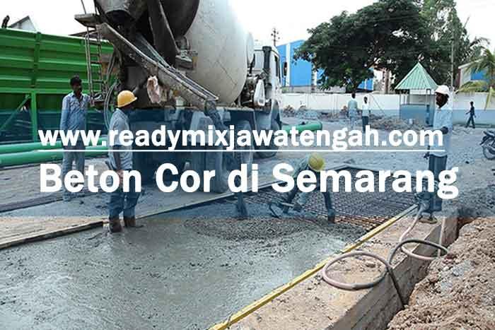 Harga Beton Cor Semarang